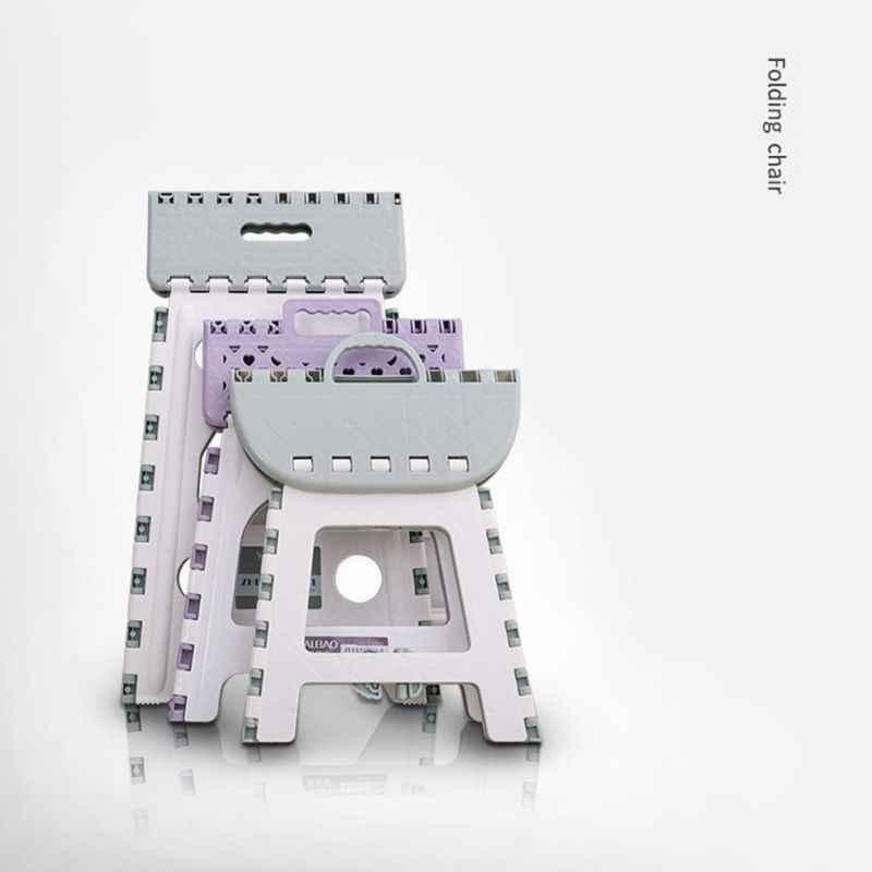 Складывающийся табурет многоцелевой портативный сиденье стула для дома поезд