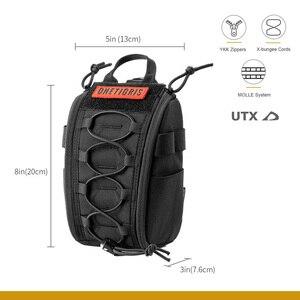 Image 4 - Onetigris primeiros socorros saco médico pacote kit médico desprender rápido emt/primeiros socorros bolsa tático edc airsoft trauma bolsa