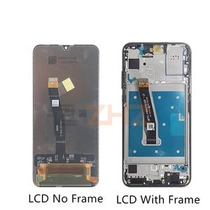 Image 2 - Voor Huawei Honor 10 Lite LCD Touch Screen Digitizer vergadering met Frame Voor Honor 10 Lite screen vervanging HRY LX1 reparatie deel