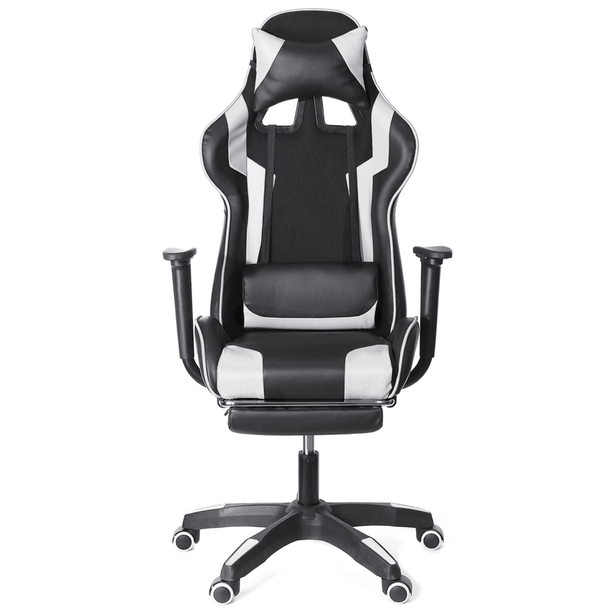 Furniture Office Chair High Back Gaming Chair Recliner Computer Laptop Desk PU Leather Seat Gamer Office Armchair With Footrest