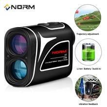 NORM Professional 700 м перезаряжаемый лазерный дальномер для гольфа с толчком и наклонной траекторией компенсации