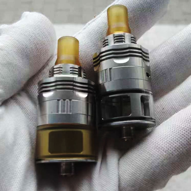 415 S61 v1 rta 316ss 22mm 3ml MTL RTA Genesis Atomizer Style RDTA Rebuildable Dripping Tank single coil 510 Drip Tip top filling