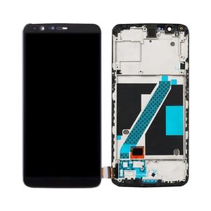 Image 5 - 100% oryginalny dla OnePlus 5T LCD montaż digitizera ekranu dotykowego dla Oneplus 5T wyświetlacz z ramką wymiana 1 + 5T ekran A5010