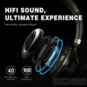 Image 3 - Colorful Gaming headset EP16S 3.5mm Wired Headband fone de ouvido Folding Stereo bass Headset gamer for office music headphones