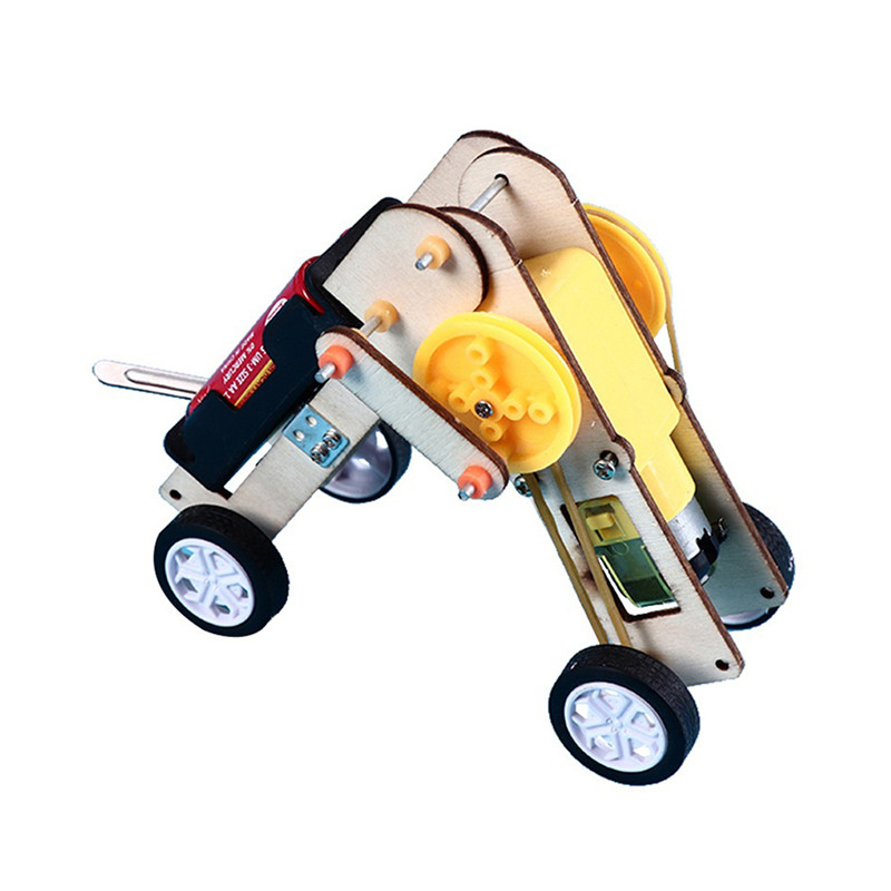 DIY Bionic Worm Crawling Robot Model Scientific Experiment Toys Kits Science Project Worldwide Education Toys for Kids