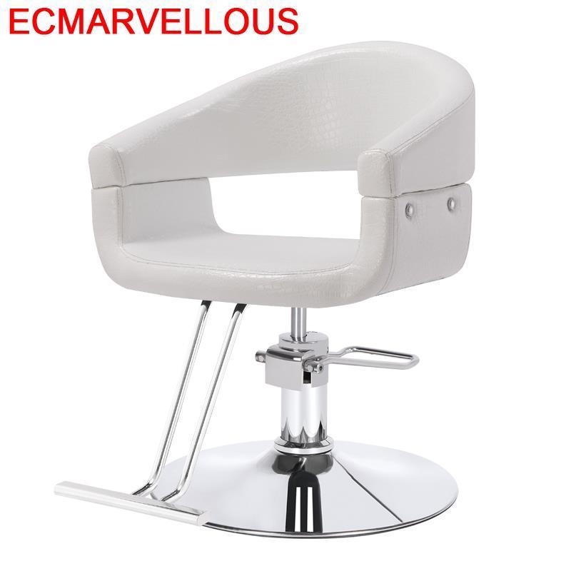 Sessel Stoelen Hairdresser Cadeira Barbeiro Furniture Mueble De Sedie Beauty Silla Salon Barbershop Barbearia Barber Chair