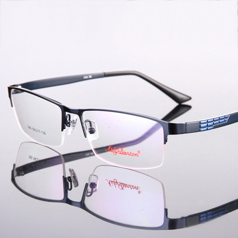 Vazrobe Prescription Spectacles Oversized Glasses Men Wide Optic Diopter Presbyopia Myopia Lens Progressive Anti Scratch Reflect