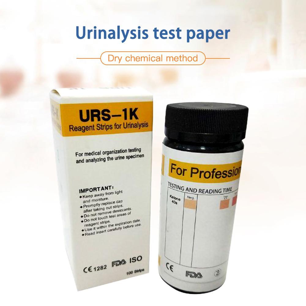 100pcs/set Ketone Strips Home Ketosis Urine Urinary Test-Atkins Diet Weight Lose Analysis Keto Strips Healthy Diet Body Tester