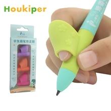 Houkiper обучения партнер детей студентов канцелярские принадлежности карандаш Холдинг практическое устройство для коррекции держатель ручки ручка