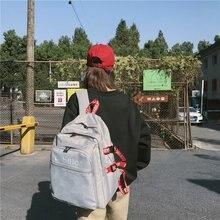 New Fashion Backpack Female Classic Large Capacity School Bag for Teenage Girls Korean Style Travel Bag Women Kawaii Backpack fashion women velvet backpack designer high quality female backpack female casual style travel school bag for teenage girls new