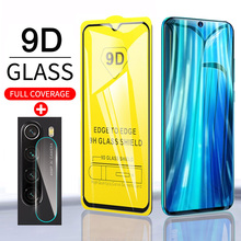 9D Full Glue Tempered Glass On For Xiaomi Redmi Note 8 note8 Pro Screen Protector For Redmi red mi note 8 pro 8T note8pro Glass