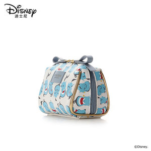 Image 2 - Disneys New Travel Cosmetic Bag Clutch Aladdin Women Make Up Bag Girls Pouch Makeup Travel Wash Storage Bag Luxury Handbag