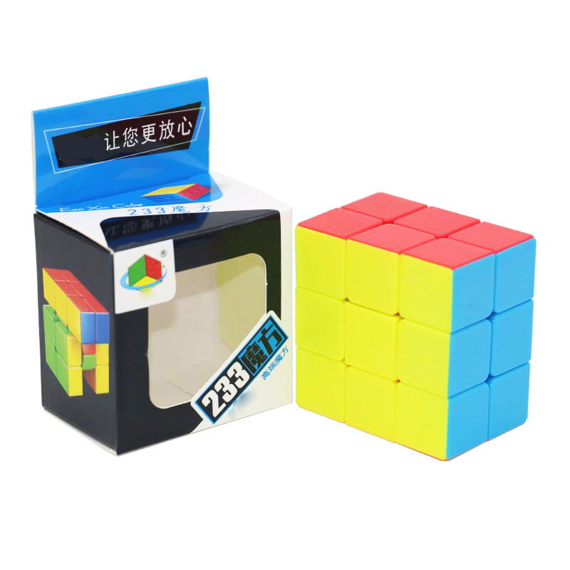 2x3x3 Speed Cube Stickerless Smooth 233 Magic Cubes Profession Puzzle Cube For Children Cube Toys