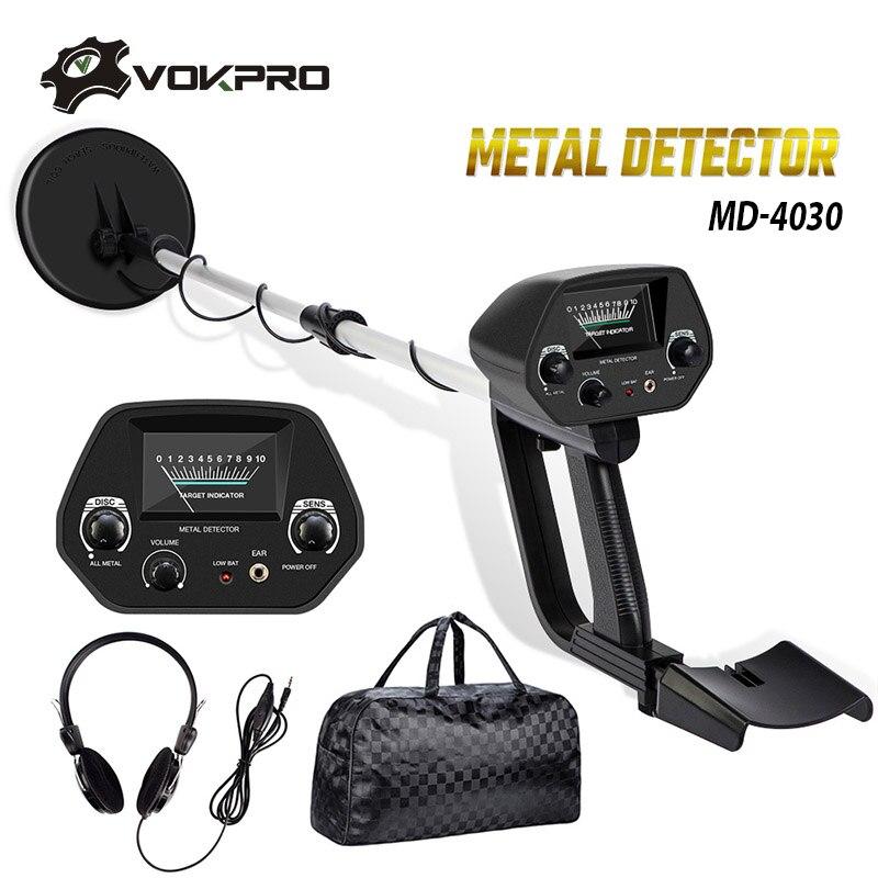 MD-4030 Metal Detector Underground Gold Detector Metal Length Adjustable Treasure Hunter Seeker Portable Hunter Detector