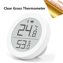 مقياس حرارة بلوتوث رقمي من Youpin ، مقياس حرارة 0 ~ 50 ، شاشة حبر إلكتروني ، بيانات تسجيل تلقائي مع تطبيق Mijia