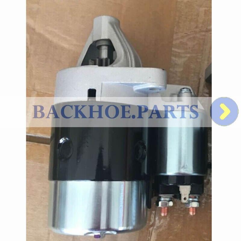 Motor de arranque 12V 0.9KW 9T para Motor Kubota D950