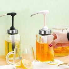 Glass honey bottle special jar honey squeeze subfilling bottle household sealed jar transparent food grade jam jar kitchen tools набор jam jar серебристый