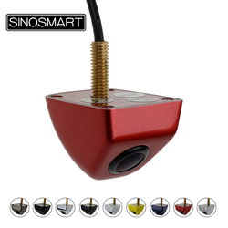 SINOSMART Hot Sale Universal HD Car Parking Reverse Backup Rear/Front Camera for Vehicle Yellow Bule Red Brown White Black