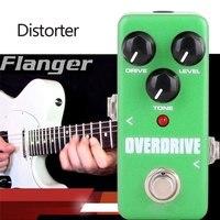Green Metronome Guitar Loop Pedal Calibrating Device Portable Guitar Tuner Pedal Bass Guitar Effect Pedal Tool