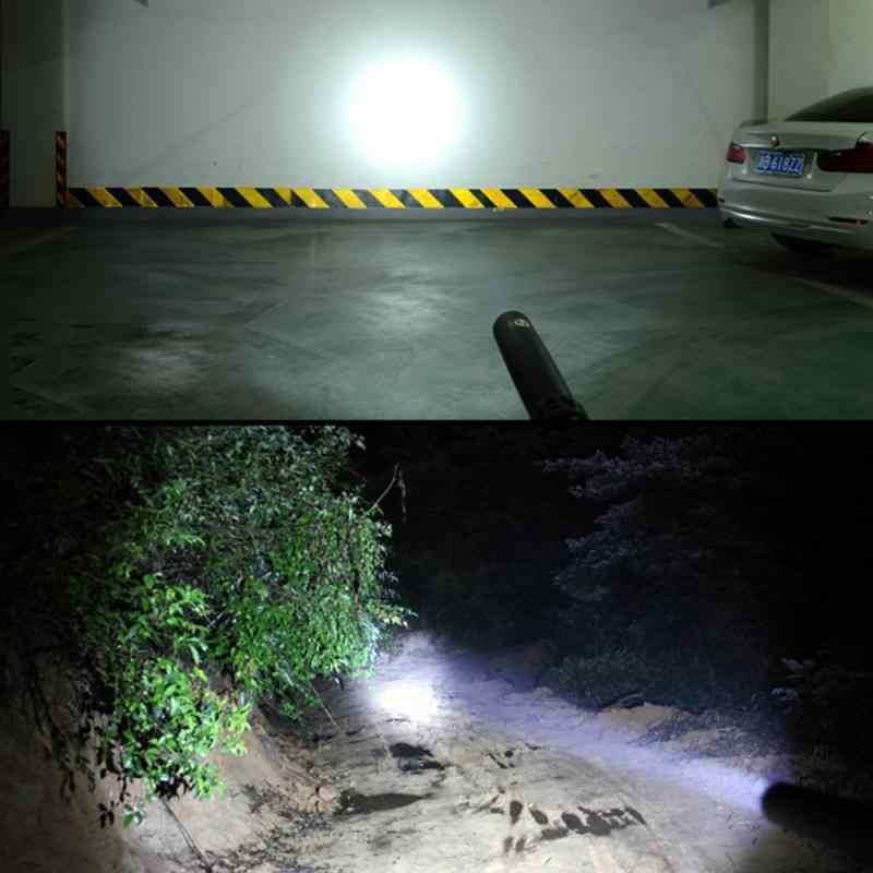 Gậy bóng Chày Đèn Pin LED 220-380 Lumen Siêu Sáng Baton Điện Đèn Pin Khẩn Cấp và Tự Vệ