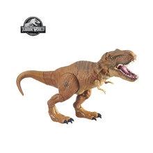 Jurassic dünya Stomp ve Strike Tyrannosaurus Rex t-rex Action Figure çocuk oyuncakları en popüler yılbaşı hediyeleri B2875