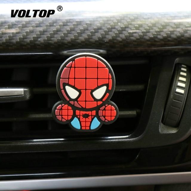 Cartoon Air Freshener Perfume Car Diffuser Smell Car Interior Accessories Air Condition Vent Outlet Fashion Cool