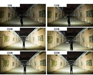 Image 5 - LIFELONG WARRANTY 500w led Floodlight ip65 Waterproof Outdoor led Flood Lights Daylight White AC170 245V led Spotlights
