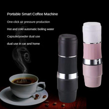 12v Coffee Maker Car Capsules Portable Electrical Superautomatic Induction Coffee Machine Cold Brew Coffee Maker Home Appliances