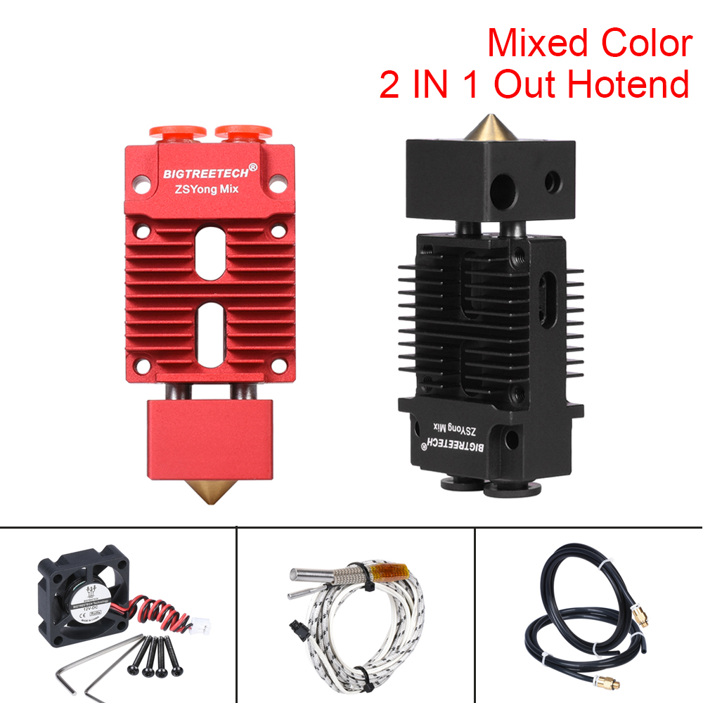 Geeetech A10M  3D Printer 2 Mixing Colors Dual Extruder Upgraded 1.75mm Filament