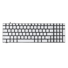 US Layout Laptop Replacement Backlit Keyboard for ASUS N550J