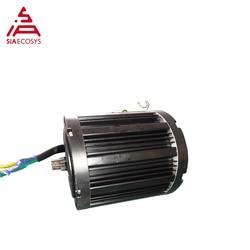 QSmotor 138 3kw 72V 100KPH motor de accionamiento medio BLDC 3000w kits de tren de potencia con controlador de motor y piñón de acelerador tipo Z6
