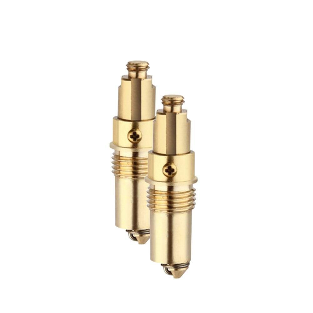 2PCS Kitchen Faucet Sink Bathroom Bathtub Basin Drain Plug Accessories Easy Install Home Brass Slotted Bolt Durable Practical
