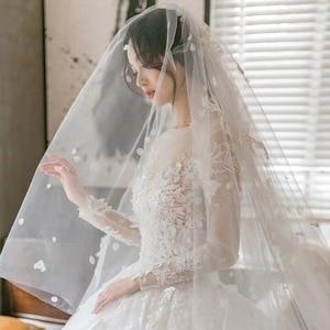 Image 1 - 2020 Rushed Celebrity Dress Wholesale 2020 New Main Light Dress Trailing Star Luxury Women Long Sleeve, Little Dream Bride Yarn