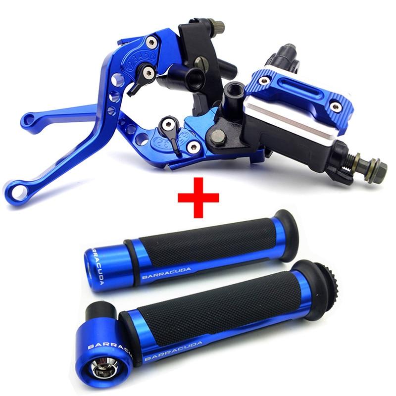 CNC Palancas de embrague de freno de motocicleta plegables extensibles para BenelliTRK502 2017 ADV.