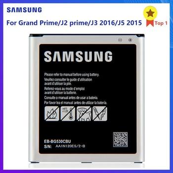 SAMSUNG Battery EB-BG530CBC EB-BG530BBE EB-BG530BBC for Samsung Galaxy J2 Prime J2 2018 J320 J3110 J5 SM-J500M SM-G532F G530FZ for samsung galaxy j2 prime case silicone ultra thin cover aninal for case samsung j2 prime j2prime g532f sm g532f phone cases