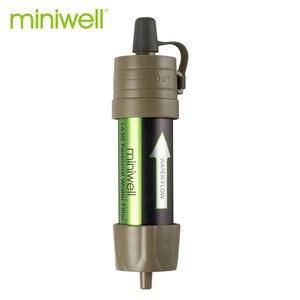Image 2 - Miniwell L630 kişisel kamp arıtma su filtresi saman survival veya acil durum malzemeleri