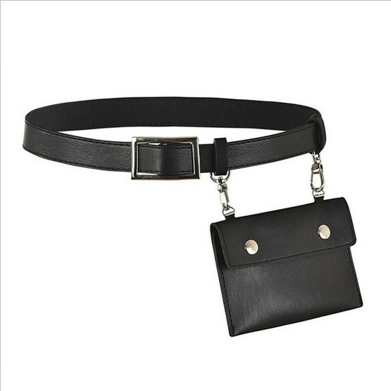 Womens Waist Belt Bag Mini Round Ring Envelope Shoulder Purse Phone Wallet Pouch Travel Waist Fanny Pack Holiday Belt
