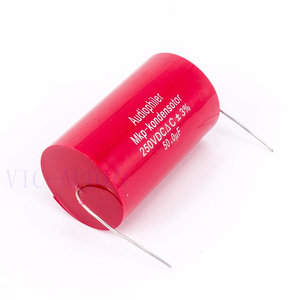 Image 4 - Audiophiler Mkp קבלים 50uf 250V DC 3% HIFI חום Electrodeless קבלים אודיו קבלים צימוד תדר חלוקת 50uf