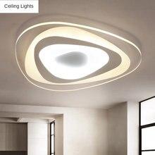 Ультратонкий Треугольники потолочный светильник s лампы для