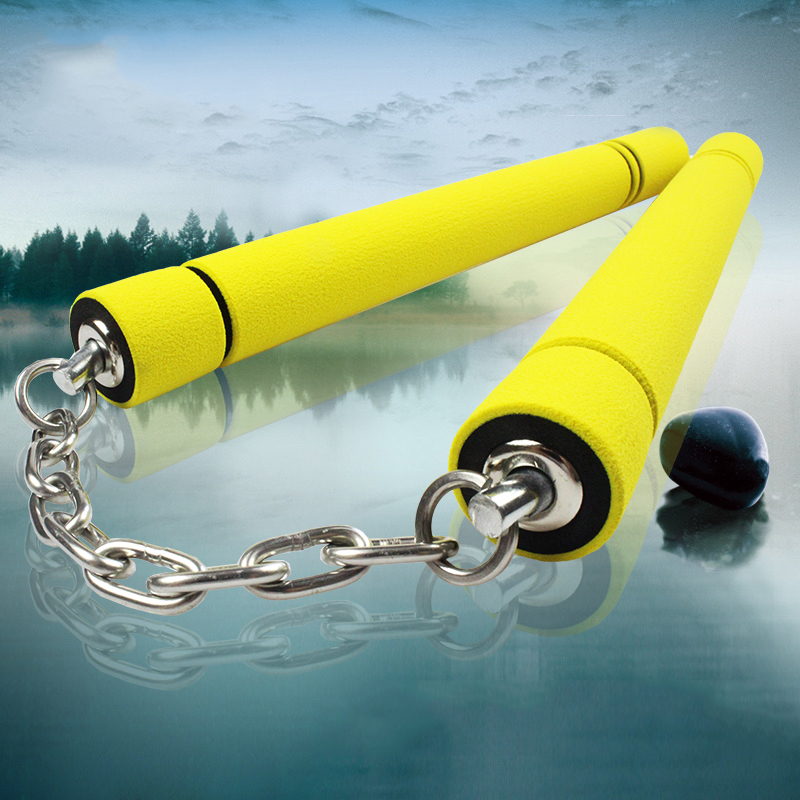 2 Thick Childrens Full Contact Foam Sparring Saftey Nunchucks