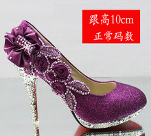 Big Teenage Girls High Heeled Shoes Kids Girls Dance Party Princess Shoes Flower Leather Girls Shoes for Heels For 10cm And 7cm