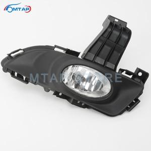 Image 4 - MTAP Fog Lamp Assy For Mazda 3 For Axela BK M3 1.6L 2003 2004 2005 2006 2007 2008 2009 2010 Front Bumper Anti Fog Light Foglamp