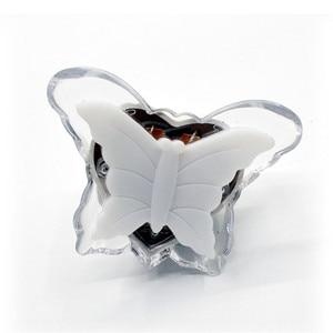 Image 5 - Veilleuse papillon, jolie couleur rvb, ampoule décorative pour chambre de bébé, prise ue, modèle LED