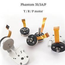 цена на For DJI Phantom 3A/P 3S  Original Yaw/Roll/Pitch/ Motor with DJI Phantom 3 Series Gimbal Motor Drone Repair Accessories (Used)