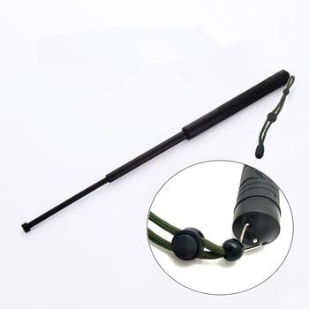 The 55cm PC stick plastic whip anti stick telescopic short stick men and women self-defense vehicle body protection articles 1