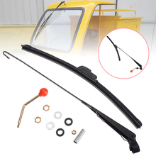 1SET UTV Manual Windshield Wiper Kit No Scratch For ATV Electric Two-wheelers Tricycles Yachts For Polaris Ranger RZR 900 1000 цена и фото