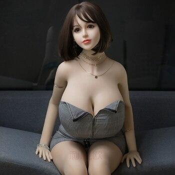 цена на 170cm TPE Sex Doll Big Breast real Vagina Anal Sex Toy For Man Masturbator Dildo Penis Cock Cove Stimulator Adult Products