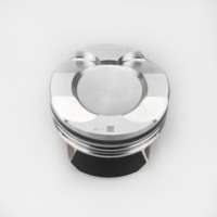 China factory engine part automotive forged steel high performance pistons for BMW