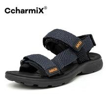 Men Sandals Shoes Vietnam Large Size 47 High Quality Breathable Canvas Sandals Man Summer Outdoor Lightweight Beach Sandals Male