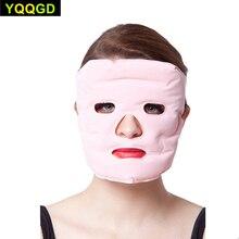 Купить с кэшбэком Btime Tourmaline Magnetic Therapy Massage Face Mask Moisturizing Whitening Face-lift Mask Beauty Face Masks